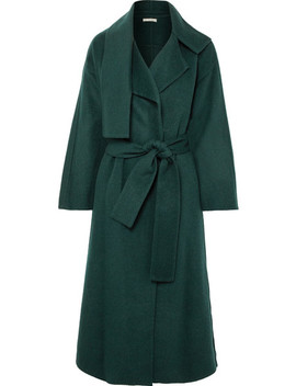 Cozy Brushed Wool Blend Coat by Vince