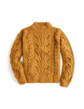 Point Sur Pointelle Sweater by J.Crew