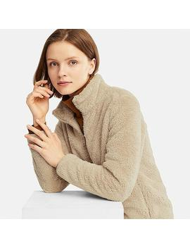 Damen Teddyfleecejacke by Uniqlo