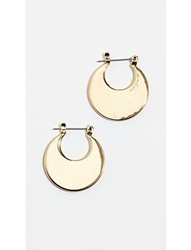 Eliptical Hoop Earrings by Luv Aj