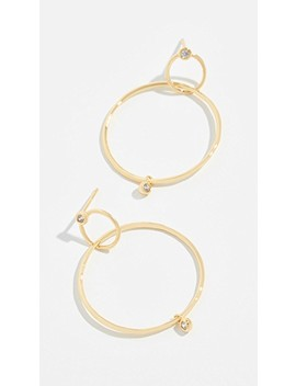 Josslyn Interlocking Hoop Earrings by Gorjana