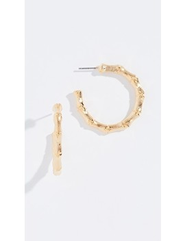 Small Hoop Earrings by Kenneth Jay Lane