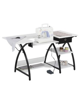 Comet Sewing Desk   Black / White   Sew Ready by Studio Designs