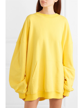 Oversized Layered Cotton Jersey Hoodie by Y/Project
