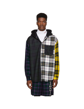 Muticolor Plaid Overshirt by Alexander Wang