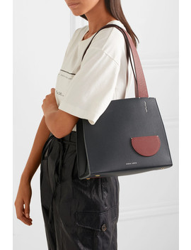Margot Two Tone Textured Leather Tote by Danse Lente