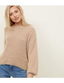 Petite   Pull Camel Doux by New Look