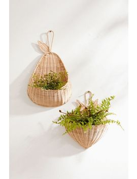 Pear Hanging Wall Basket by Urban Outfitters