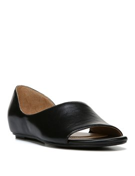 Lucie Leather D'orsay Flats by Naturalizer