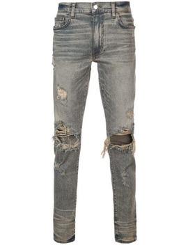 Dirty Slim Fit Jeans by Amiri