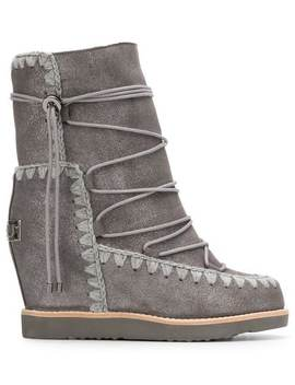 Lace Up Snow Boots by Mou