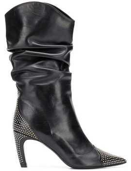 Mid Calf Boots by Aldo Castagna
