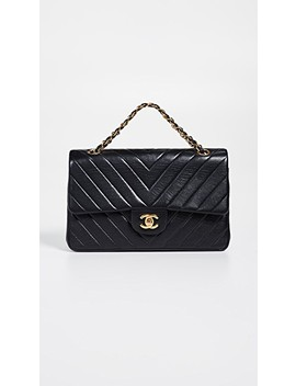 Chanel Chevron Flap Bag by What Goes Around Comes Around