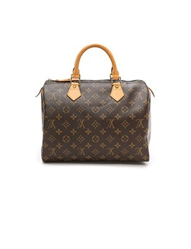 Louis Vuitton Monogram Speedy 30 Bag by What Goes Around Comes Around