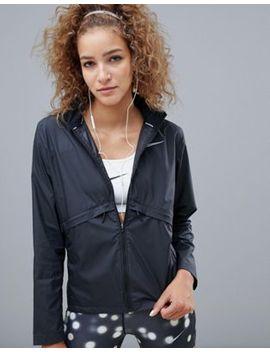 Nike Running Essential Jacket In Black by Nike
