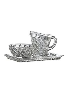 Galway Living   Ashford Sugar, Cream And Tray Set by Galway Living