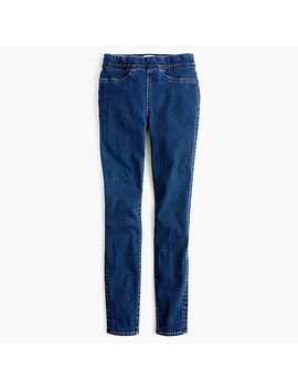 Tall Pull On Toothpick Jean In Indigo by J.Crew