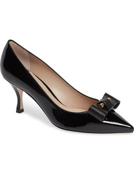 Belle Pointe Bow Pump by Stuart Weitzman