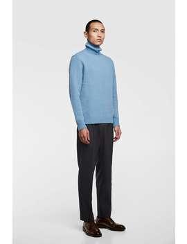 Turtleneck Knitted Sweater  Knitwear Basics Man by Zara