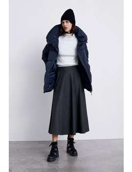 Puffer Jacket With High Collar  New Inwoman by Zara