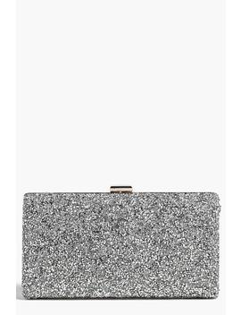 Melissa Embellished Box Clutch Bag by Boohoo