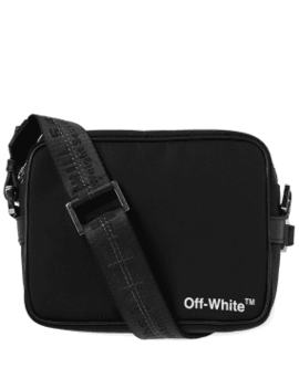 Off White Crossbody Bag by End.