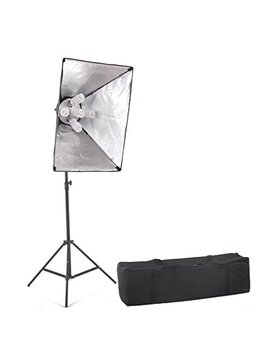 "Studio Fx 1000 Watt Large Photography Softbox Continuous Photo Lighting Kit 20"" X 28"" By Kaezi Chs5 by Studio Fx"