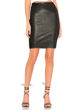 Tolstoy Eco Leather Pencil Skirt by Bailey 44