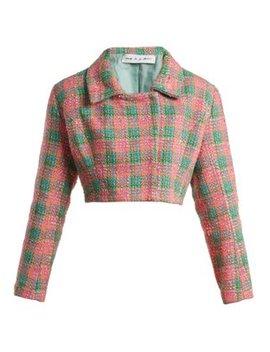 Angeles Cropped Tweed Jacket by Emilio De La Morena