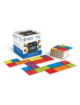 Color Cubed Strategy Game by Zulily