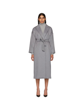 Grey Cashmere Teti Coat by Max Mara