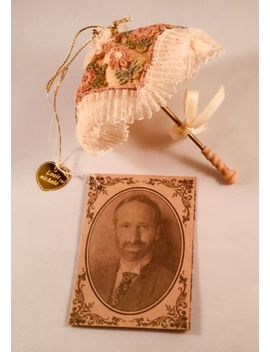 1999 Louis Nichole Heirloom Collection Decorated Parasol Holiday Ornaments by Ebay Seller