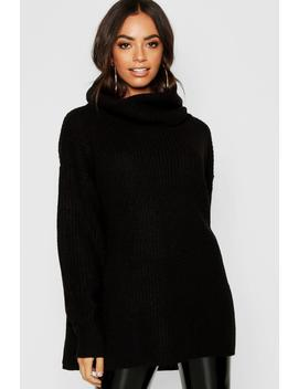 Oversized Chunky Jumper by Boohoo