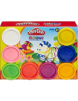 Play Doh Rainbow Starter 8 Pack, 16 Oz by Play Doh