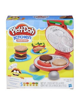 Play Doh Kitchen Creations Burger Barbecue Food Set by Play Doh