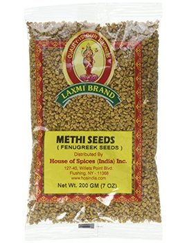 Methi (Fenugreek) Seeds 7oz by Laxmi