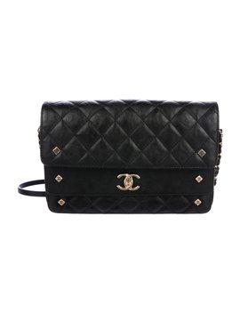 2017 Calfskin Three Flap Bag by Chanel