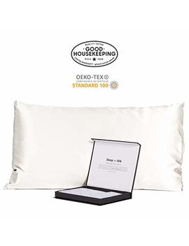 Fishers Finery 30mm Luxury 100 Percents Pure Mulberry Silk Pillowcase Good Housekeeping Quality Tested by Fishers Finery