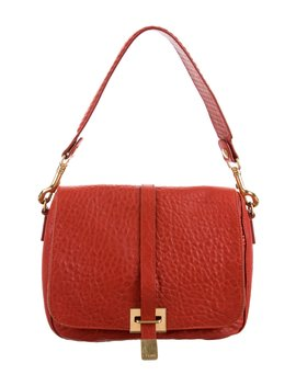 Leather Crossbody Flap Bag by Céline