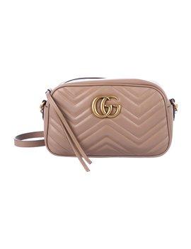 Small Gg Marmont Matelassé Shoulder Bag by Gucci