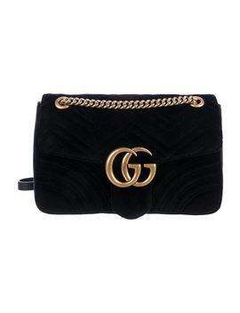 Gg Marmont Matelassé Medium Shoulder Bag by Gucci