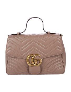 Gg Marmont Medium Satchel by Gucci