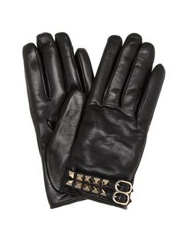 Valentino Garavani Leather Gloves by Valentino Garavani