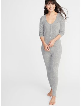 Plush Knit Onesie For Women by Old Navy