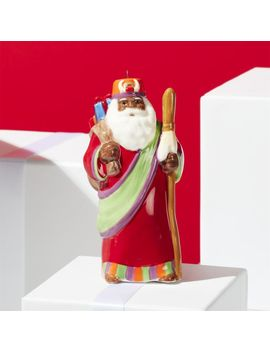 Around The World Africa Santa Ornament by Crate&Barrel