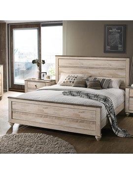 Gracie Oaks Manzano Panel Bed & Reviews by Gracie Oaks