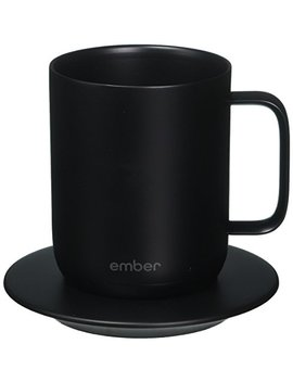 Ember (Embfj) Cm171000 Us Temperature Control Ceramic Mug, One Size, Black by Ember (Embfj)