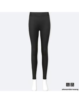 Alexander Wang Heattech Extra CÁlido Leggings Mujer by Uniqlo