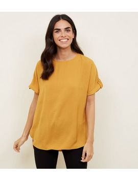 Yellow Utility T Shirt by New Look