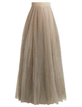 Tempest Ballet Polka Dot Tulle Skirt by Zimmermann
